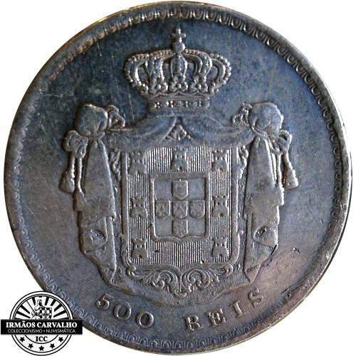 D. Pedro V - 500 Reis 1859