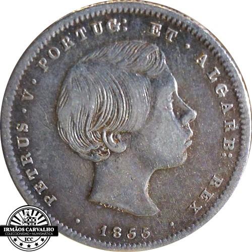 D. Pedro V 500 Reis 1856