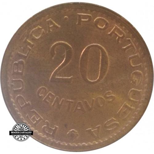Mozambique 20 Centavos 1973