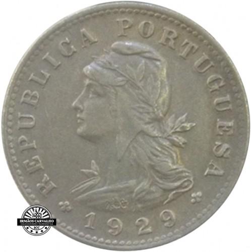 S.Thomas and Prince 20 Centavos 1929