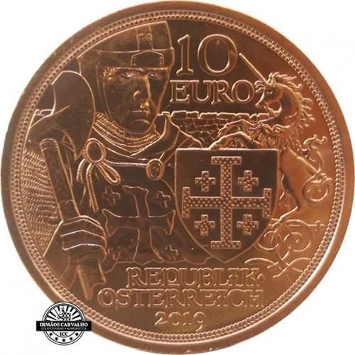 Áustria  5€ 2019 Cavaleiro da Sorte e Peregrino