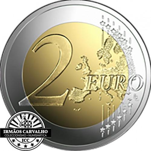 Letónia 2€ 2019  Sol Nascente