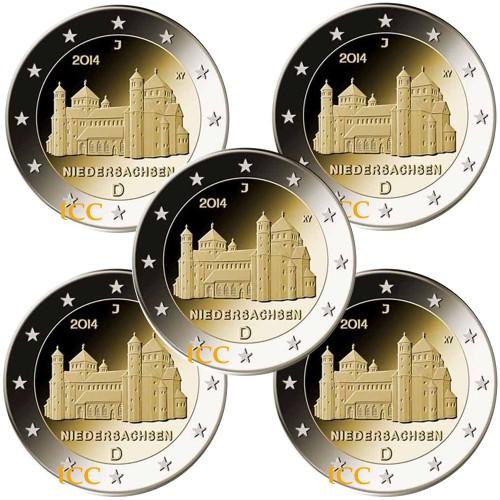 Germany  2€ 2014  Niedersachsen