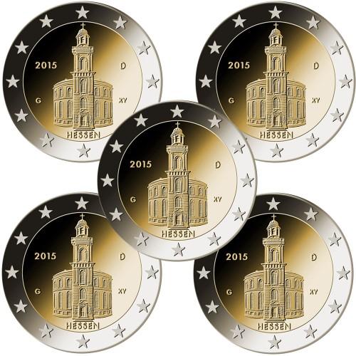 Germany 2€ 2015 St.Paul Church