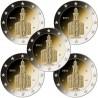 Germany 2€ 2015 (5 coins) St.Paul Church
