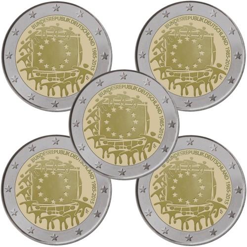 Germany 2€ 2015 European Flag