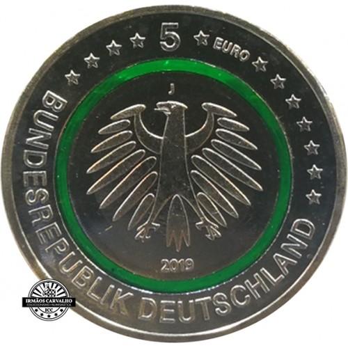Alemanha  5€ 2019  Zona Moderada