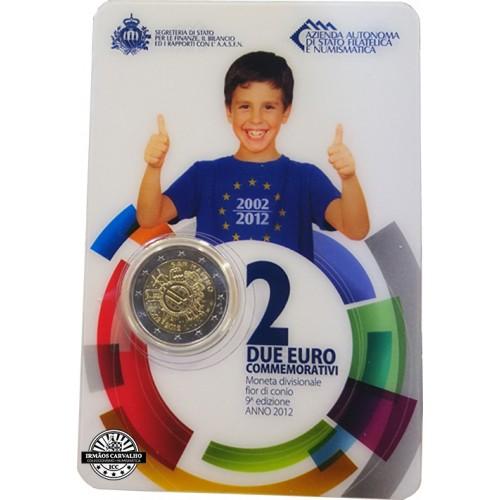 San Marino - 2€ 2012 10 years Euro