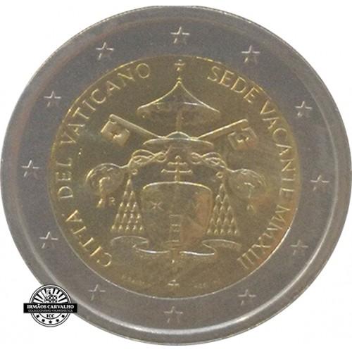 Vaticano 2€ 2013 Sede Vacante