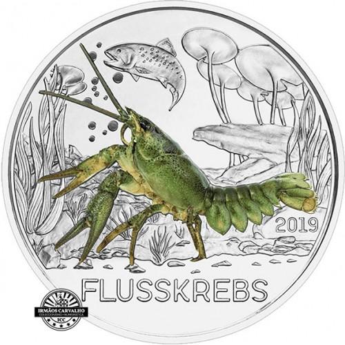 Austria 3€ 2019  Crayfish