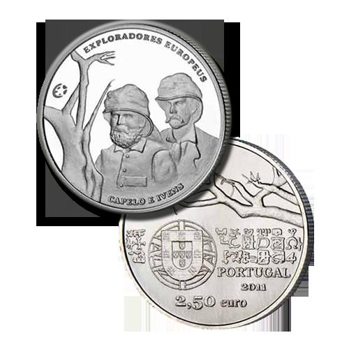 Portugal 2.50€ 2011 (Prata)