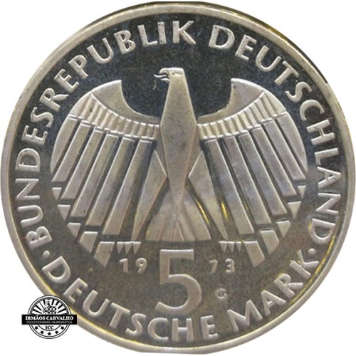 Germany 5 Mark 1973 G