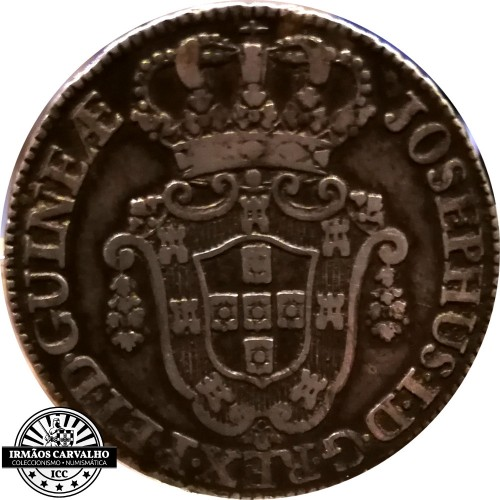 Angola Josephus I 1770 12 Macutas