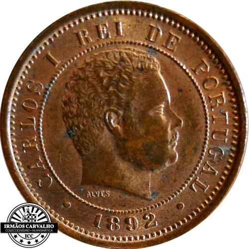 D. Carlos - 100 Reis 1890