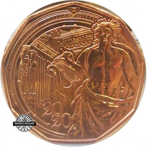 Austria  5€ 2020 Apollo Greek God