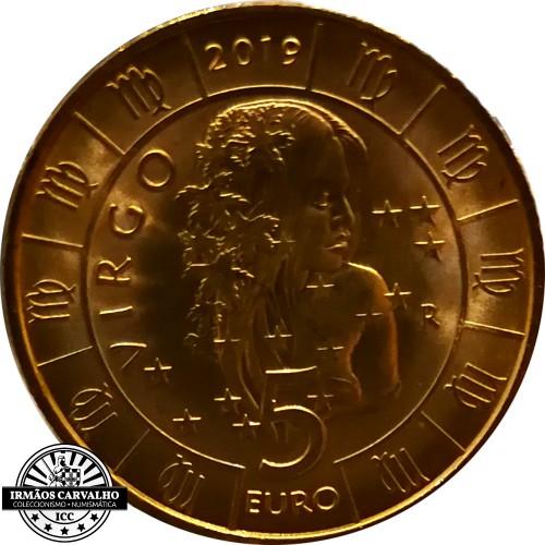San Marino - 5€ 2019 (Virgin Zodiac)