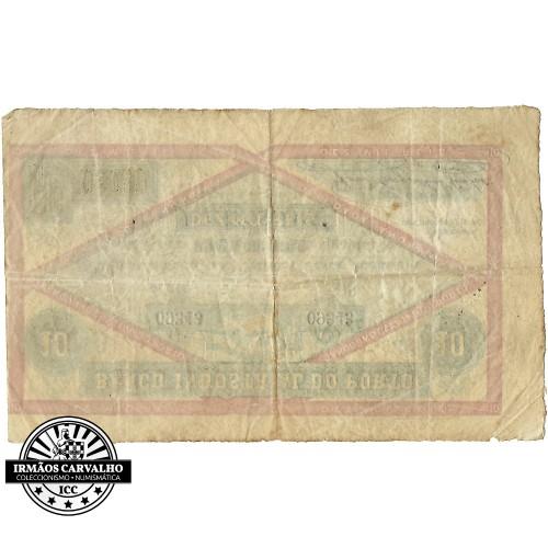 Banco Industrial do Porto 10 Mil Réis (1874)