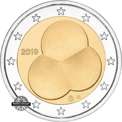 Finlândia 2€ 2019 100 Anos da  Constituição