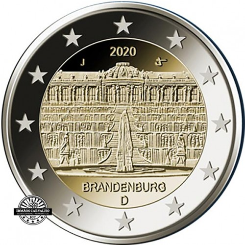 Alemanha 5X2€ 2020  Palácio de Sanssouci