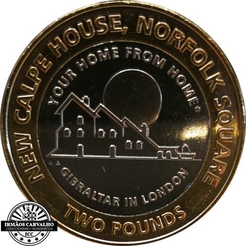 Gibraltar 2018 2 Pounds New Calpe House