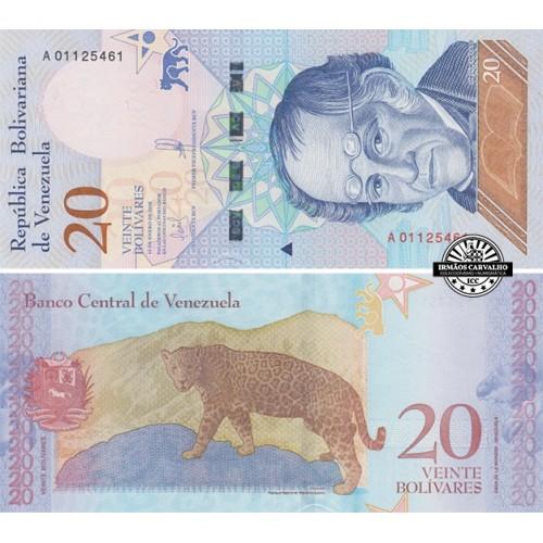 Venezuela 20 Bolívares 2018