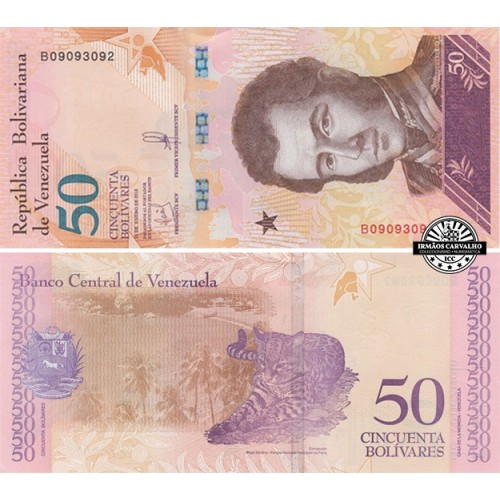 Venezuela 50 Bolívares 2018