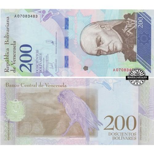 Venezuela 200 Bolívares 2018