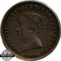 D. Maria II 100 Reis 1853
