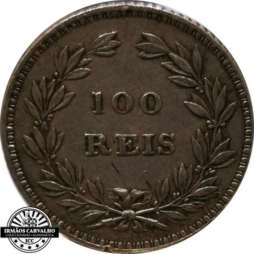 D. Maria II 100 Réis 1853