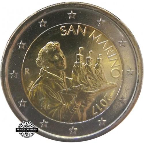 San Marino 2€ 2017