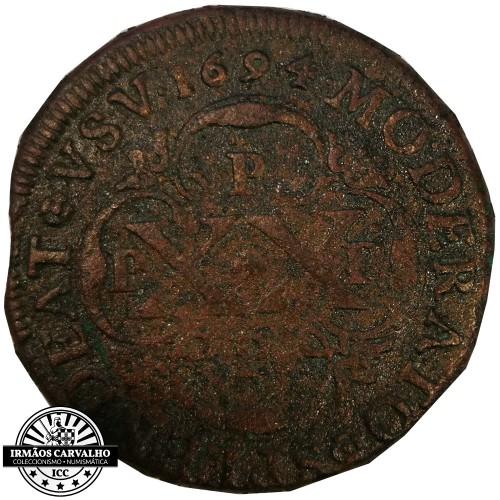 Petrus II 1694 XX Reis PPPP