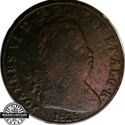 D. João VI 40 Réis 1825