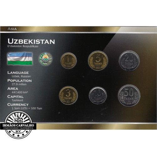 Uzbekistan Coin Set