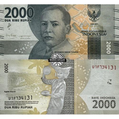 Indonésia 2000 Rupias 2019