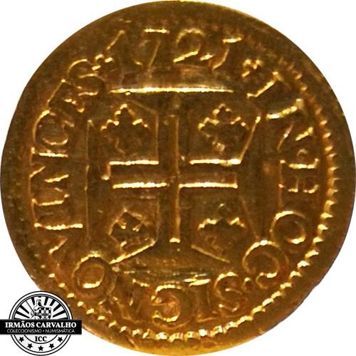 Ioannes V 1721  480 Reis (Gold)