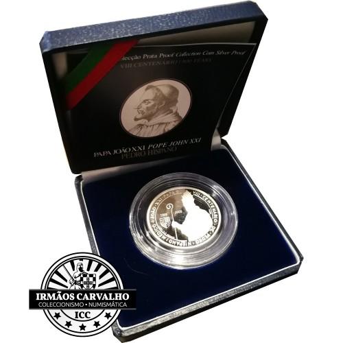 Portugal 5€ Pedro Hispano 2005 (PrataProof)