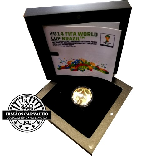 Portugal 2,50€ WORLD CUP 2014 Gold Coin