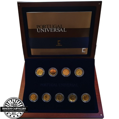 Portugal Universal 1/4€ Set Gold Coins