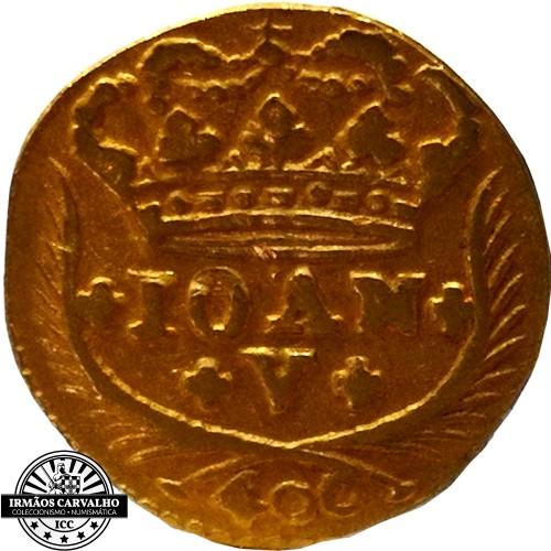 Ioannes V 1746  480 Reis (Gold)