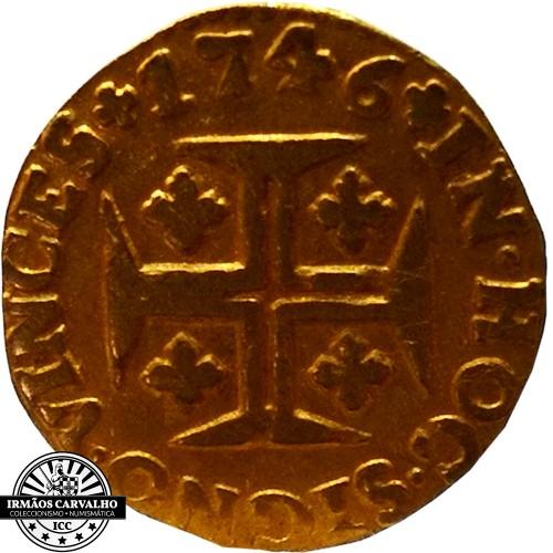 D. João V  480 Réis 1746  (Ouro)
