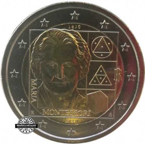 Italy 2€ 2020 Maria Montessori