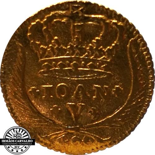 Ioannes V 1725  480 Reis (Gold)