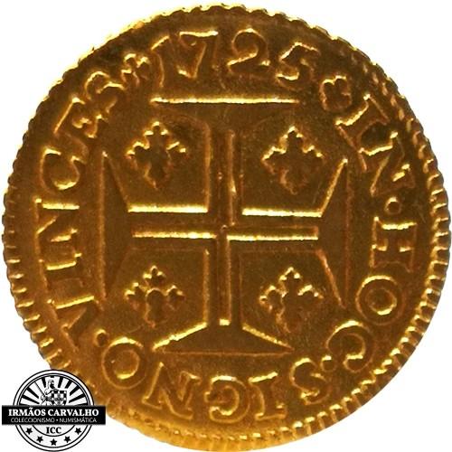 Ioannes V 1722  480 Reis (Gold)