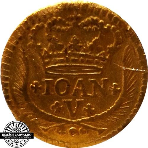 Ioannes V 1733 480 Reis (Gold)
