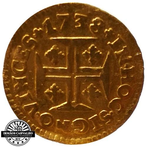 Ioannes V 1738 480 Reis (Gold)