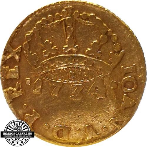 Ioannes V 1730  480 Reis (Gold)