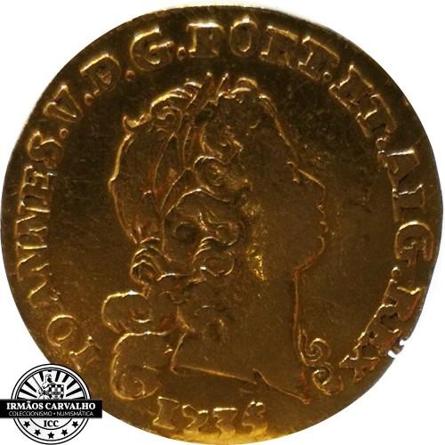 Ioannes V 1735  800 Reis (Gold)