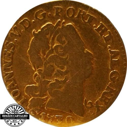 Ioannes V 1730  800 Reis (Gold)