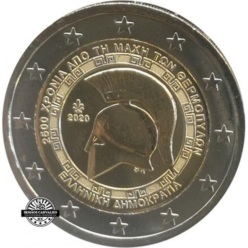 Greece 2 € 2020 Termopylae Batlle