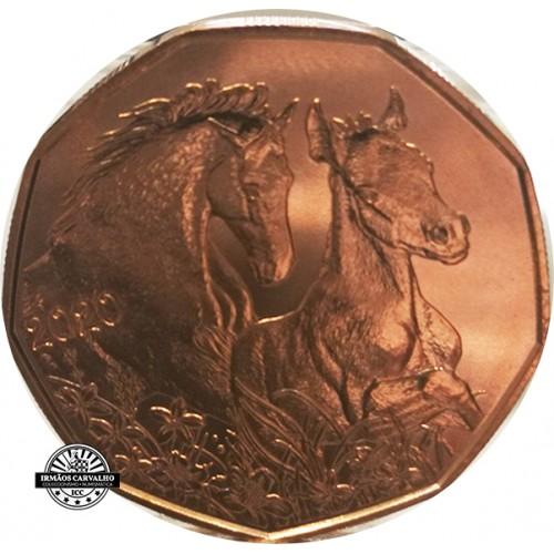 Áustria  5€ 2020 Cavalo